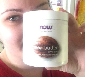 Video of NOW Solutions Cocoa Butter 100% Pure Multi-Purpose Moisturzer uploaded by Alicia B.