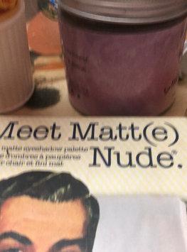 Video of theBalm Meet Matt(e) Nude® Nude Matte Eyeshadow Palette uploaded by Alaa A.