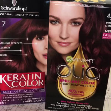 Video of Garnier® Olia® Oil Powered Permanent Hair Color uploaded by Victoria M.