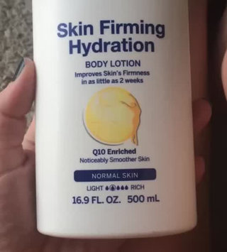Video of NIVEA Skin Firming Body Lotion with Q10 Plus uploaded by Brittney E.
