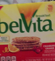 Nabisco belVita Breakfast Biscuits Cranberry Orange uploaded by Yousra A.