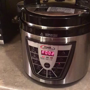 Video of Tristar Products Power Pressure Cooker XL uploaded by Kathryn C.
