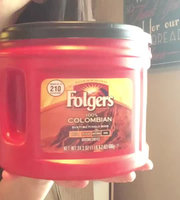 Folgers® 100% Colombian Med-Dark Ground Coffee 24.2 Canister uploaded by Angela W.