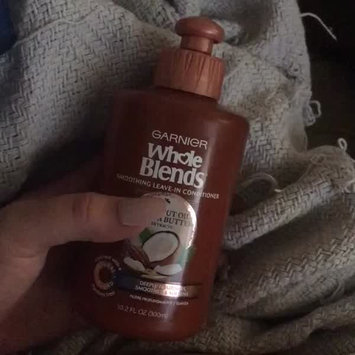Video of Garnier Whole Blends Coconut Oil & Cocoa Butter Extracts Smoothing Conditioner uploaded by Jourdan T.