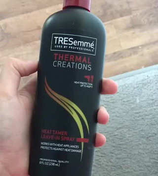 Video of TRESemme Thermal Creations Heat Tamer Protective Spray uploaded by Zeina A.