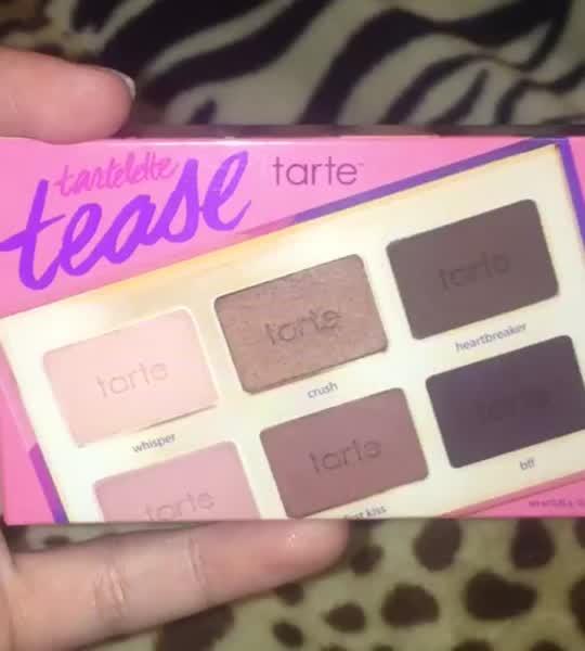tarte Tartelette Tease Clay Palette uploaded by Jocelyn B.