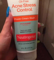 Neutrogena Oil-Free Acne Stress Control Power-Cream Wash uploaded by Brianna D.