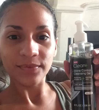 Video of Garnier SkinActive Clean+ Shine Control Cleansing Gel uploaded by Mari D.