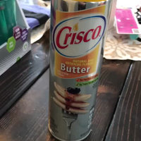 Crisco No-Stick Butter Cooking Spray 6 Oz Aerosol Can uploaded by Alyssa T.