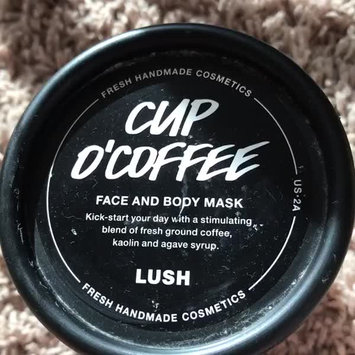 Video of LUSH Cup O' Coffee Face and Body Mask uploaded by Skylar H.