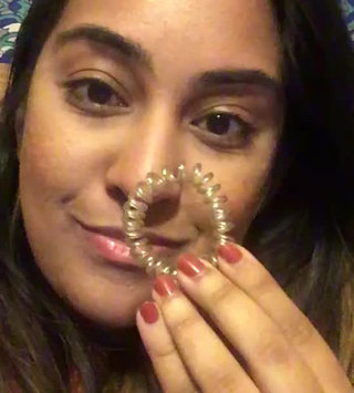 Video of invisibobble Time to Shine The Traceless Hair Ring Bronze Me Pretty 3 traceless hair rings uploaded by Arwa A.