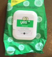 Yes To Cucumbers Shooting Hypoallergenic Facial Wipes uploaded by Halee R.