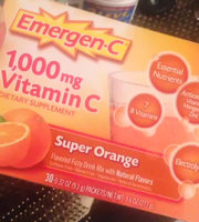 Emergen-C 1,000 mg Vitamin C Super Orange uploaded by Katherine J.
