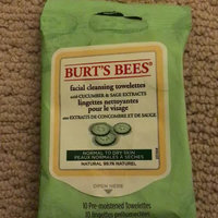Burt's Bees Facial Cleansing Towelettes Cucumber & Sage uploaded by Betsy E.