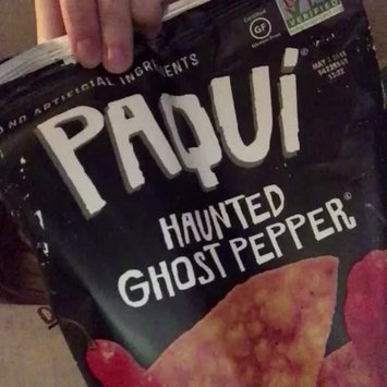 Video of Generic Paqui Haunted Ghost Pepper Tortilla Chips, 5.5 oz uploaded by Sarah W.