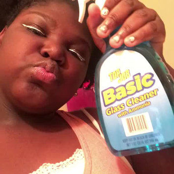 Video of Generic Top Job Basic Glass Cleaner with Ammonia, 32 fl oz uploaded by Meah S.