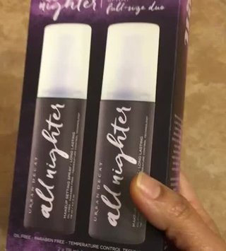 Video of Urban Decay All Nighter Long-Lasting Makeup Setting Spray uploaded by Sapna t.