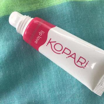 Video of Kopari Coconut Lip Love uploaded by Viola C.