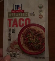 McCormick® Organics Taco Seasoning Mix uploaded by Grisleidy O.
