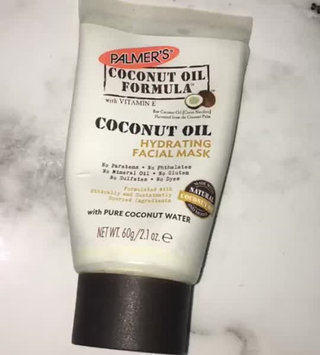 Video of Palmer's Coconut Oil Formula Hydrating Facial Mask uploaded by Dani A.