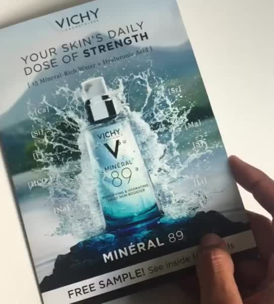 Vichy Mineral 89 Hyaluronic Acid Face Moisturizer uploaded by Cláudia N.
