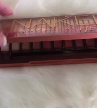 Video of Urban Decay Naked Heat Eyeshadow Palette uploaded by Makinzie J.