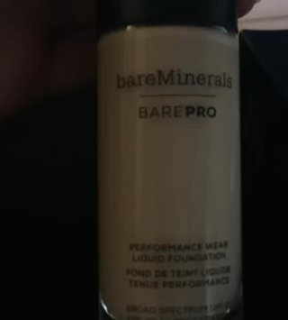 Video of bareMinerals barePRO® Performance Wear Liquid Foundation uploaded by Jessica F.