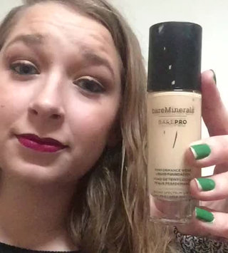 Video of bareMinerals barePRO® Performance Wear Liquid Foundation uploaded by Addie B.