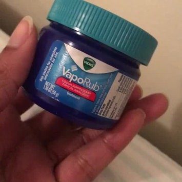 Video of Vicks® VapoRub™ Topical Cough Suppressant uploaded by Betsi S.