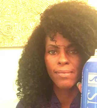 Video of Isoplus Oil Sheen Hair Spray uploaded by India W.
