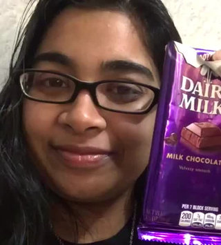 Video of Cadbury Dairy Milk Chocolate Bar uploaded by Kasima A.