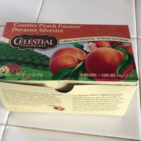 Celestial Seasonings® Country Peach Passion Herbal Tea Caffeine Free uploaded by Aide J.