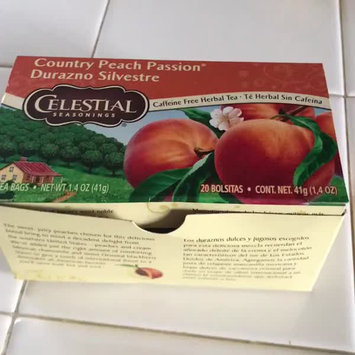 Video of Celestial Seasonings Country Peach Passion Caffeine Free Herbal Tea - 20 CT uploaded by Aide J.
