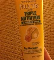 Garnier® Fructis Triple Nutrition 3 Minute Undo Dryness Reversal Treatment uploaded by Karen M.