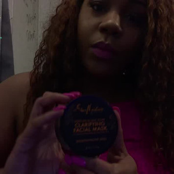 Video of SheaMoisture African Black Soap Problem Skin Facial Mask uploaded by Chasity T.