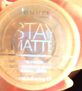 Video of Rimmel London Stay Matte Pressed Powder uploaded by Eve M.