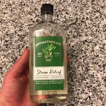 Video of Bath & Body Works Aromatherapy Stress Relief Eucalyptus Spearmint Body Wash & Foam Bath uploaded by Heidi B.