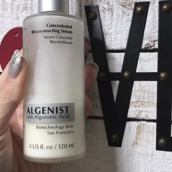 Video of Algenist Concentrated Reconstructing Serum uploaded by Davia G.