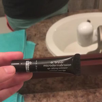 Video of Dr. Brandt® Skincare Microdermabrasion Skin Exfoliant Eye Cream uploaded by Brittany P.