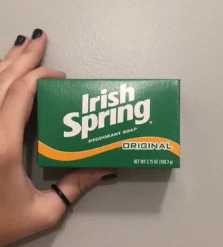Video of Irish Spring Original Deodorant Soap uploaded by Marivi S.