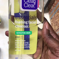 Clean & Clear® Essentials Foaming Facial Cleanser Sensitive Skin uploaded by Stephanie J.