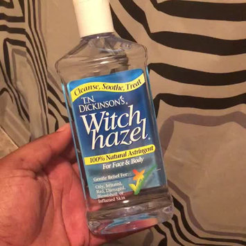Video of T.N. Dickinson's Witch Hazel Astringent uploaded by Jherrica S.