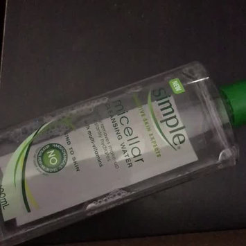 Video of Simple® Micellar Water Cleanser uploaded by jo J.