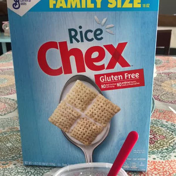 Video of Rice Chex Gluten Free Cereal uploaded by Marcie M.