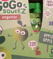 GoGo SQUEEZ APPLE APPLE ORGANIC APPLESAUCE uploaded by Betsy K.