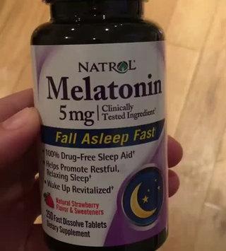 Video of Natrol Melatonin Fast Dissolve uploaded by Maclain B.