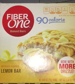 Video of Fiber One 90 Calorie Lemon Bars uploaded by Yousra A.