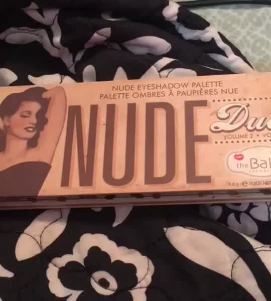 Thebalm the Balm Nude Dude Palette uploaded by Ashley G.