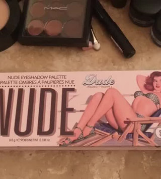Video of Thebalm the Balm Nude Dude Palette uploaded by Raphaela T.