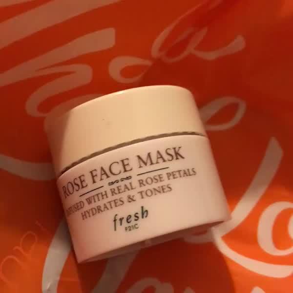 Fresh Rose Face Mask uploaded by Jacqueline O.